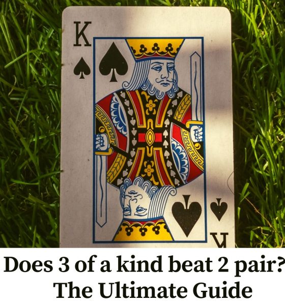Does 3 of a kind beat 2 pair