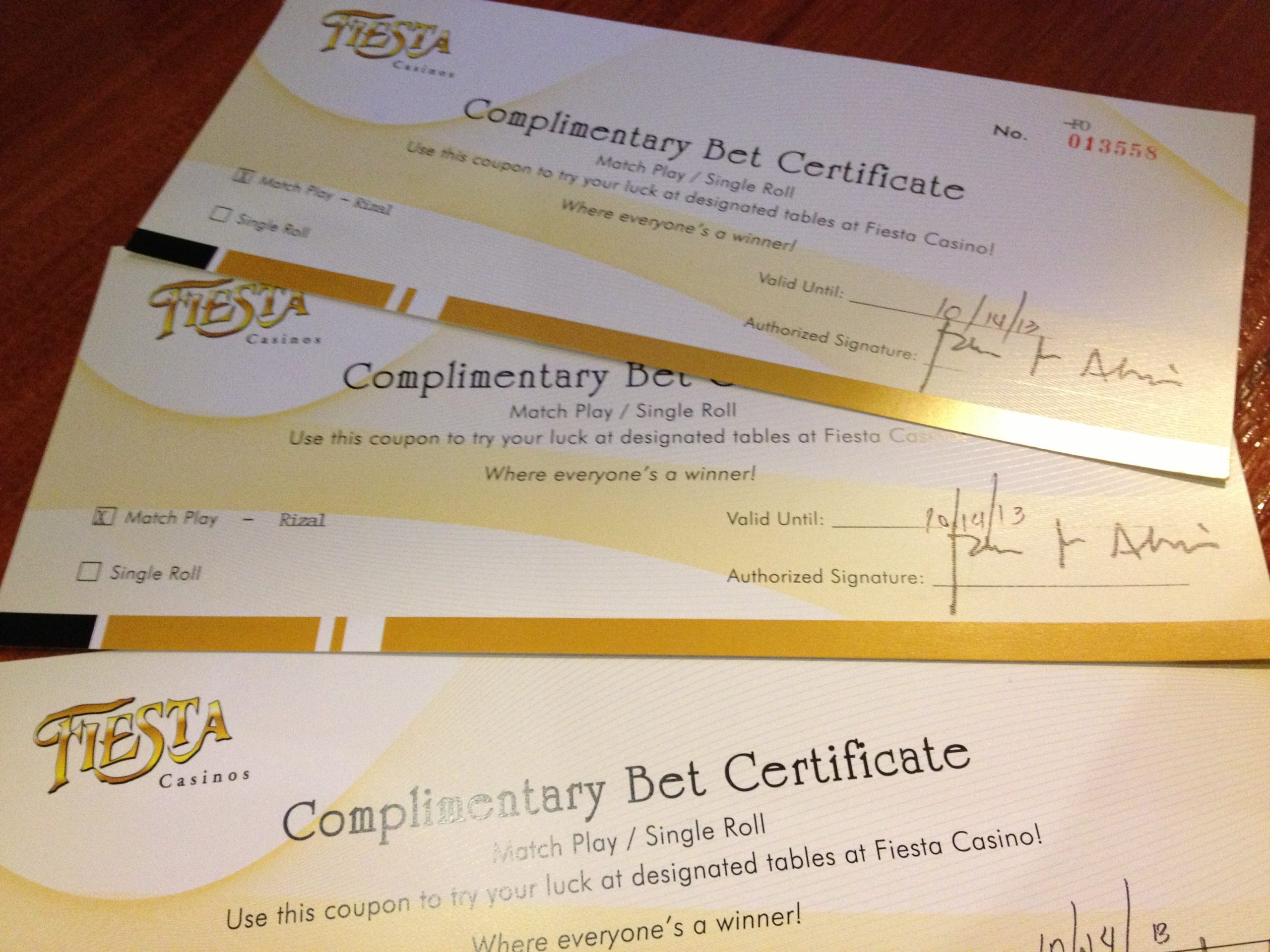 Can You Counterfeit Casino Vouchers
